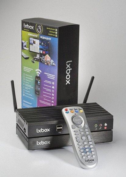 Пульт Д/У для LXBOX2/ LXBOX3 с ИК адаптером