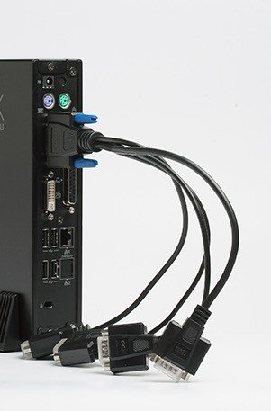 Кабель разветвлитель для подключения 4-COM портов